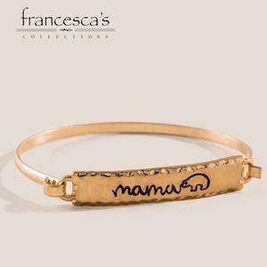 Francesca's Mamma Bear Bangle Bracelet